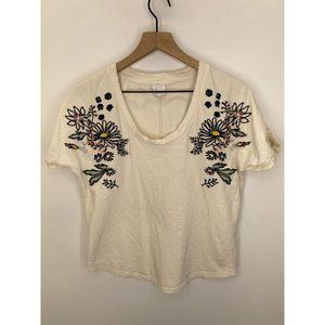 Karl Marc John 100% Cotton Scoop-Neck Tops White